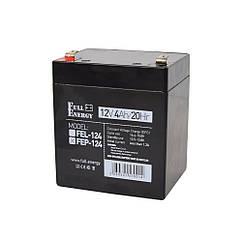 Акумулятор 12В 4 Аг для ДБЖ Full Energy FEP-124