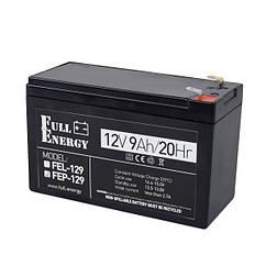Акумулятор 12В 9 Аг для ДБЖ Full Energy FEP-129
