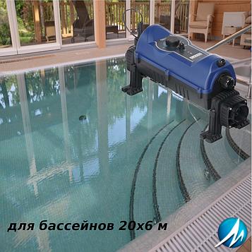 "Електронагрівач ""під ключ"" для басейну 20х6 м"
