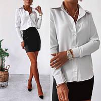 Класична жіноча сорочка в діловому стилі, фото 1