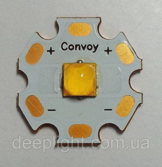 Світлодіод Cree XHP50.2 18W 6V 5000K для ліхтарів,фар,світильників мідна підкладка DTP 20мм 90CRi