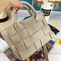 Бежевая женская сумка Турция топ качество