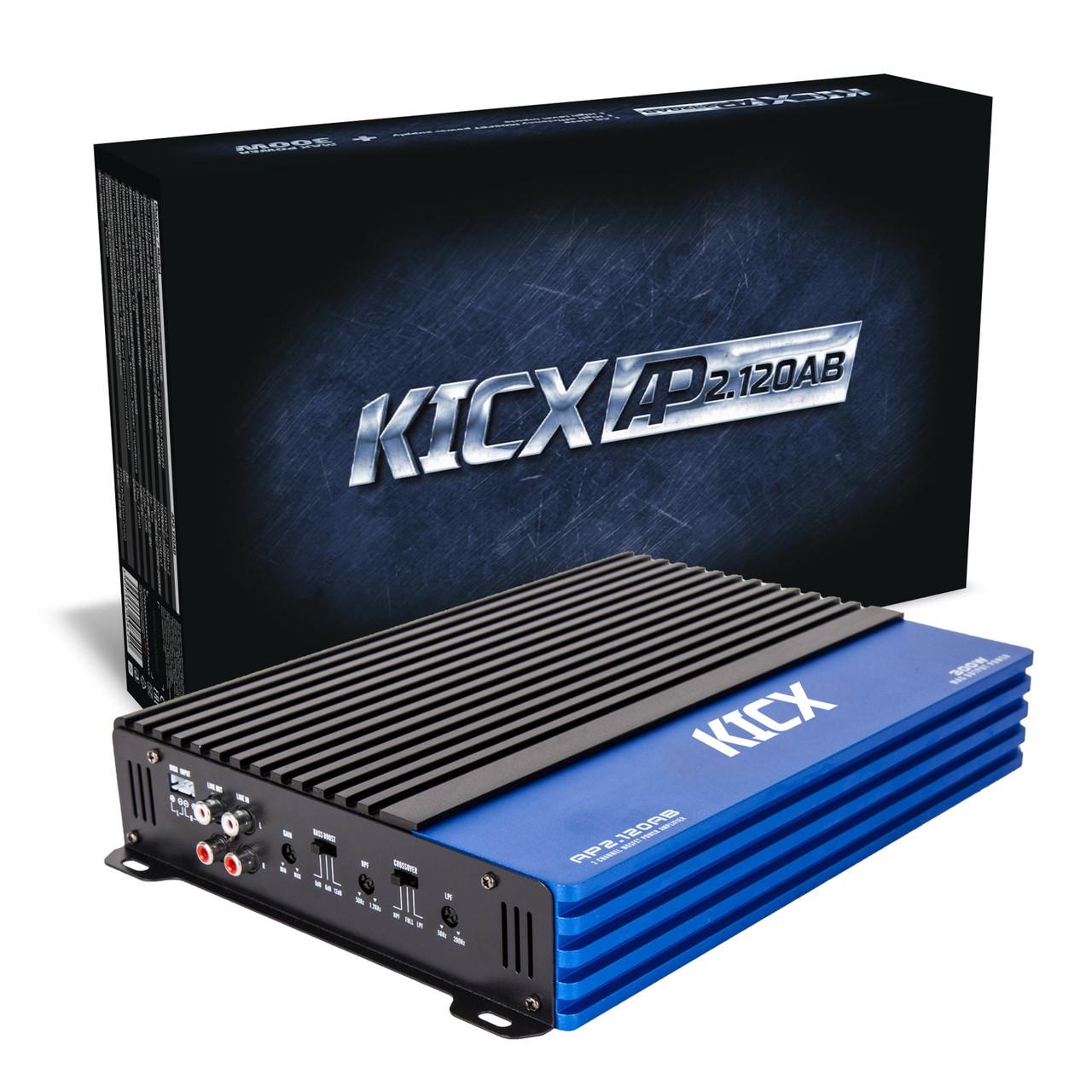 СКИДКА 300грн! Автомобильный усилитель Kicx AP 2.120AB 2-х канальный