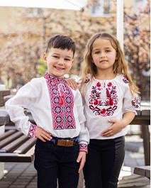 Дитячі вишиванки (для дівчаток і хлопчиків)