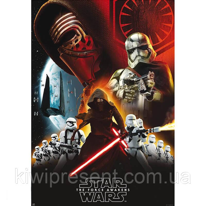 Постер Star Wars 98x68 см 112049