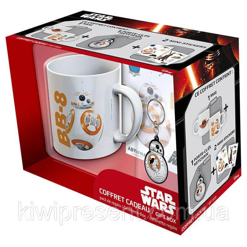 Набір подарунковий Star Wars чашка, брелок, наклейка 112068