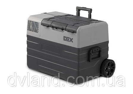 Автохолодильник-морозильник DEX ENX-42B 42л Компресорний з акумулятором, фото 2