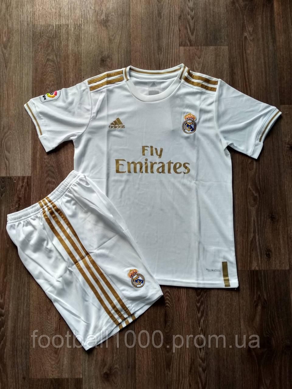 Футбольная форма Реал Мадрид домашняя 2019-2020