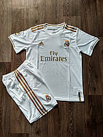 Футбольная форма Реал Мадрид домашняя 2019-2020, фото 1