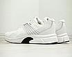 Кросівки чоловічі спортивні білі шкіра текстиль, фото 3