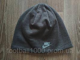 Спортивна шапка Nike темно-сіра