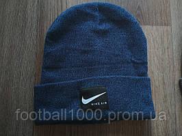 Шапка темно Nike Air синя