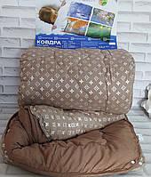 Одеяло полуторный размер 4 сезона двойное на кнопках О-802