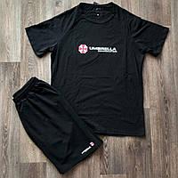 Комплект футболка і шорти Umbrella чорний
