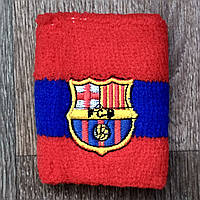 Напульсник Барселона сине-красный