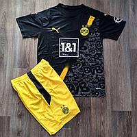 Футбольная форма Боруссия Дортмунд выездная черная 2020-2021