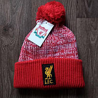 Футбольна шапка червона Ліверпуль