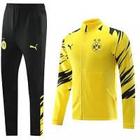 Спортивний костюм Боруссія Дортмунд жовтий сезон 2020-2021