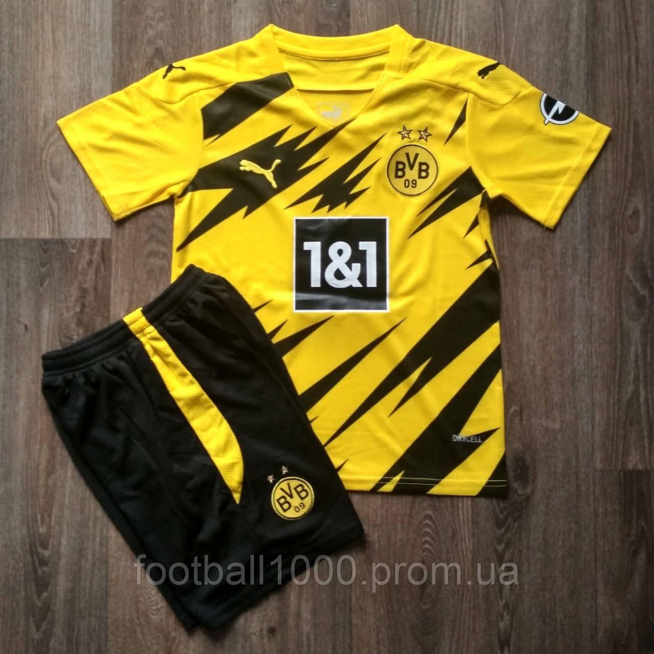 Дитяча футбольна форма Боруссія Дортмунд домашня 2020-2021 жовта