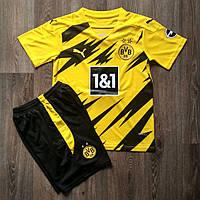 Дитяча футбольна форма Боруссія Дортмунд домашня 2020-2021 жовта, фото 1