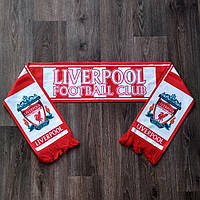 Фанатський футбольний шарф Ліверпуль червоний, фото 1