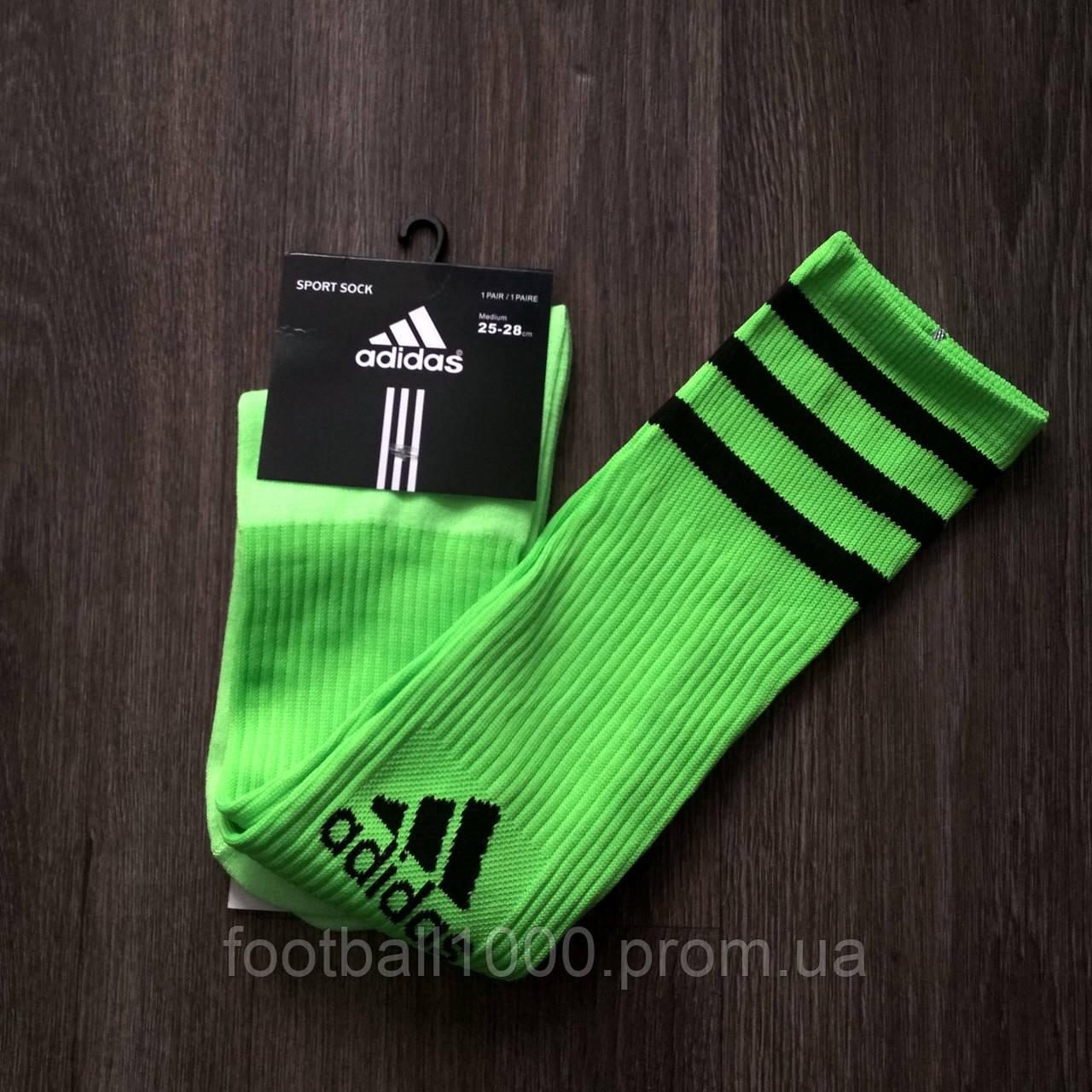 Дорослі футбольні гетри Adidas салатові BR