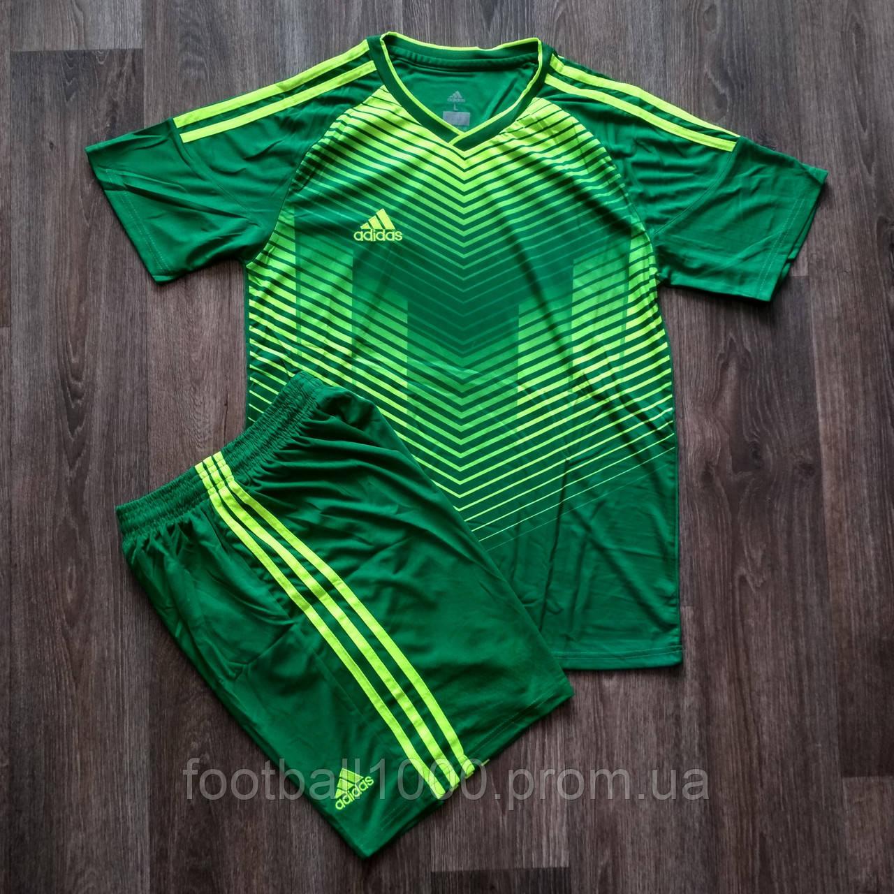 Детская форма футбольнаяAdidas зеленая BR