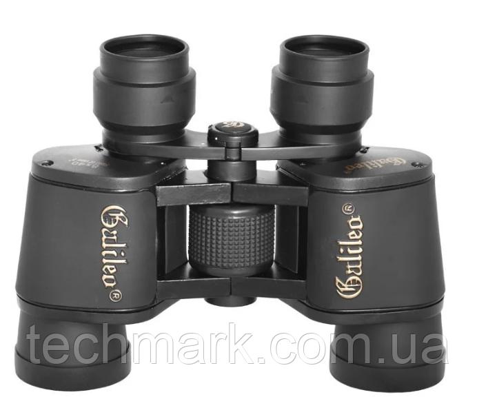 Бінокль оптичний з чохлом 8X40 Galileo W7 Чорний ТМ