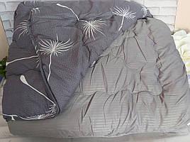 Одеяло полуторный размер 4 сезона двойное на кнопках О-805