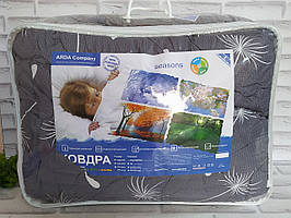 Одеяло полуторный размер 4 сезона двойное на кнопках в подарочной сумке О-805
