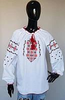Женская вышиванка с узором , размер 40-50