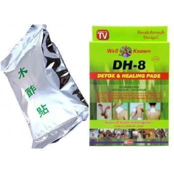 Очищающий и заживляющий пластырь DH-8 Detox & Healing