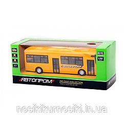 "Автобус 7780 ""Автопром"", металлопластик, инерция, масштаб 1:32"