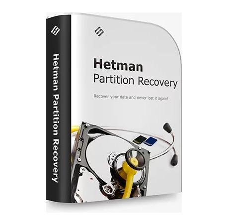 Програма Відновлення Даних Гетьман Hetman Partition Recovery Комерційна Версія