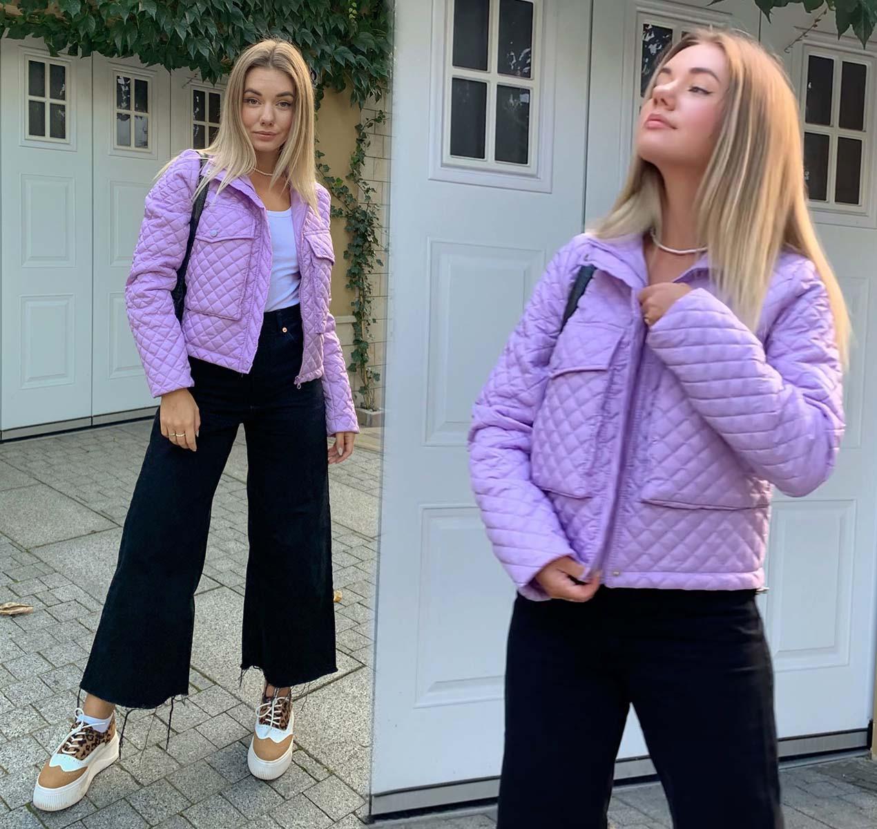 """Женская куртка 533 """"Стёганка Спенсер"""" в разных расцветках"""