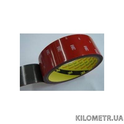 Лента липкая двосторонняя  3М/6008F-50мм*0,8*2м
