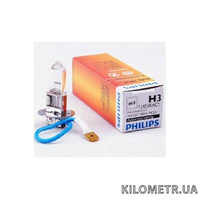 Галогенная лампа Philips H3 Rally 12V 100W (12455RAC1)