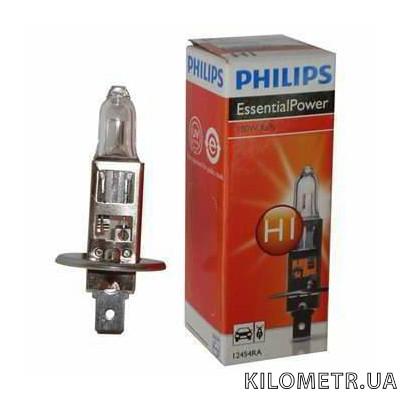 Галогенная лампа Philips H1 Rally 12V 100W (12454RAC1)