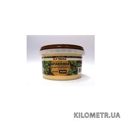 Шпаклівка для дерева ясен TRIORA 0,8 кг
