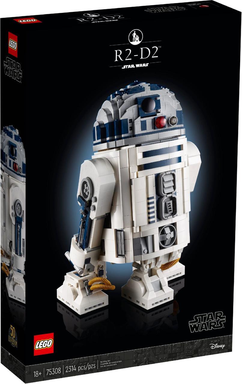 Конструктор Лего Зоряні Війни Lego Star Wars R2-D2 75308