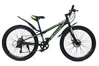 Горный Велосипед CrossBike Blast RIGID Подростковый колеса 26 дюймов, рама 11 дюймов вес 13.2кг -