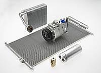 Замена конденсора радиатора кондиционера