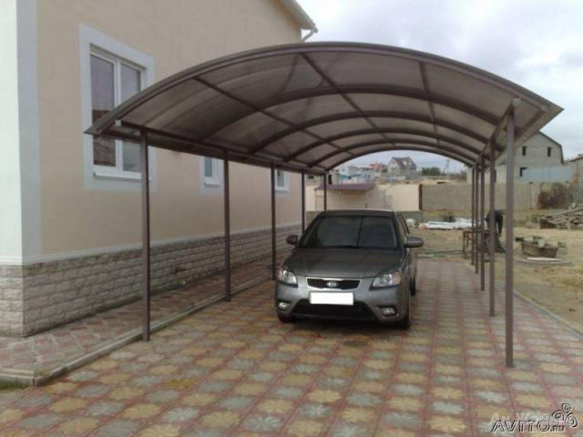 Изготовление навес для авто - OOO «Металл Комфорт Сервис»  в Одессе