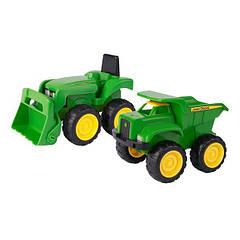 Игрушки для песка John Deere Kids Трактор и самосвал 2 шт. (35874)