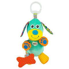 М'яка іграшка-підвіска Lamaze Собачка зі звуком (L27023)