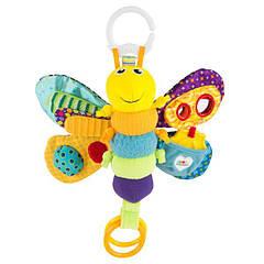 М'яка іграшка-підвіска Lamaze Метелик з прорізувачем і пискавкою (L27024)