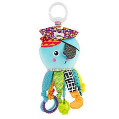 М'яка іграшка-підвіска Lamaze Кальмар з прорізувачем (L27068)