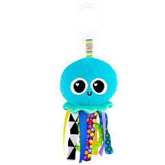 М'яка іграшка-підвіска Lamaze Медузка з прорізувачем (L27194)