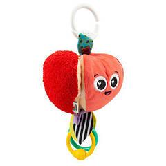 М'яка іграшка-підвіска Lamaze Яблучко з прорізувачем (L27383)