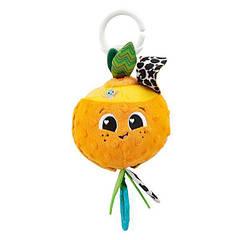М'яка іграшка-підвіска Lamaze Апельсинка з прорізувачем (L27384)